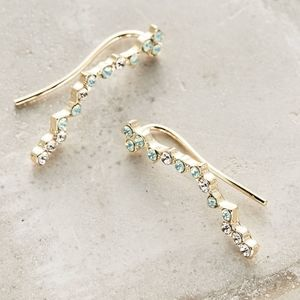 Anthropologie Constellation Crawlers Earrings